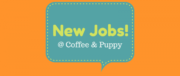 Coffee & Puppy กำลังเปิดรับสมัครงาน!