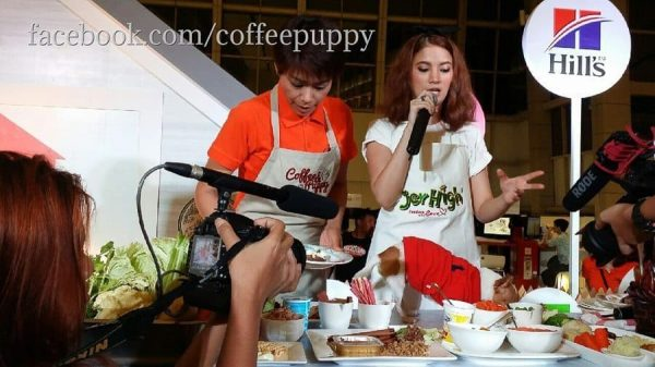 """Coffee & Puppy"" @ ""Give A Chance 2014"" (Central World, Thailand)"