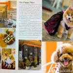 """""""Coffee & Puppy"""" In """"Martha Stewart Living Magazine (Thailand)"""""""