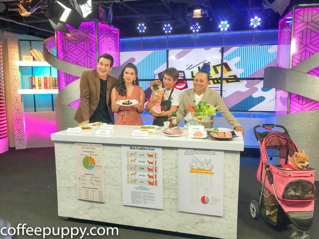 Coffee & Puppy On TV: รายการ ปากลำโพง Amarin TV HD 34 7