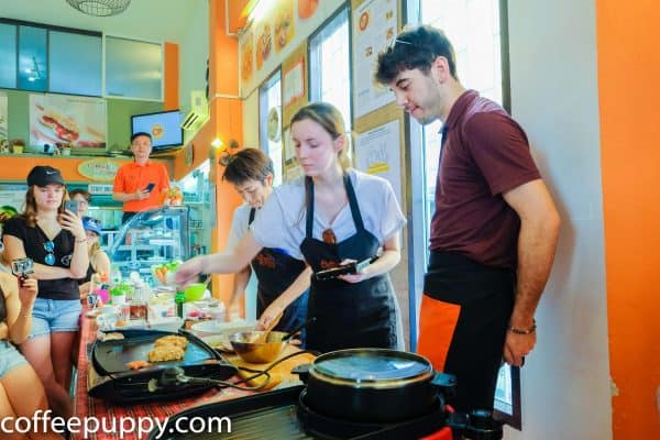เชฟอาหารสุนัข-workshop-cooking-for-dogs-for-french-students-2019