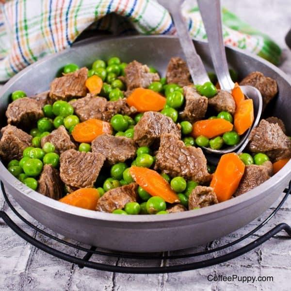 อาหารสุนัข อาหารน้องหมา Beef Stew