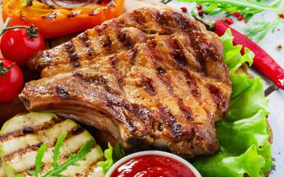 Grilled Pork Chop Steak
