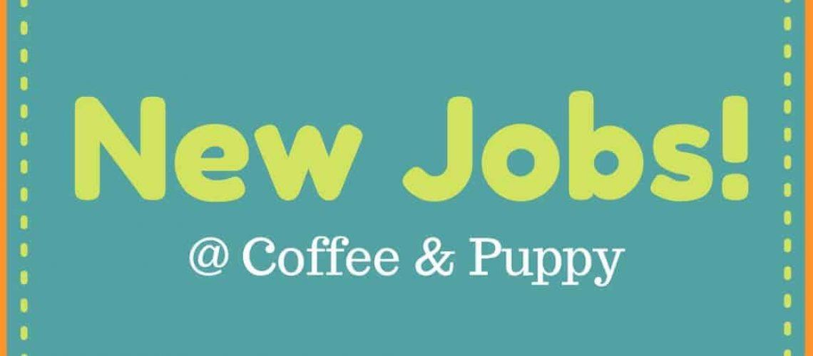 Coffee & Puppy กำลังเปิดรับสมัครงานหลายตำแหน่ง