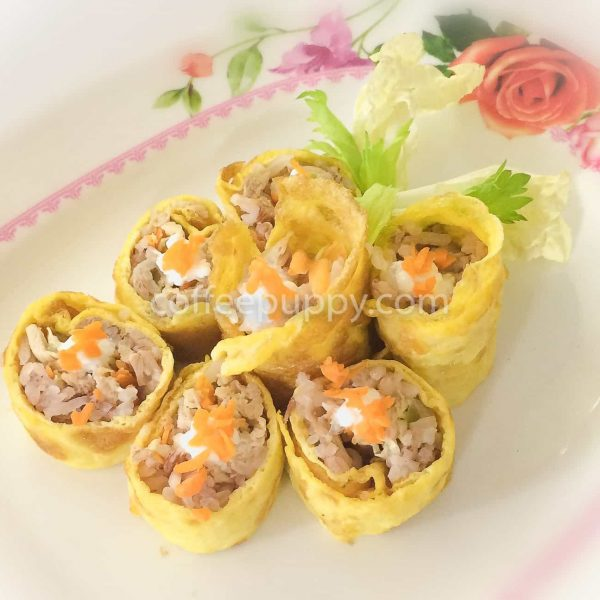Egg Roll - Puppy Menu