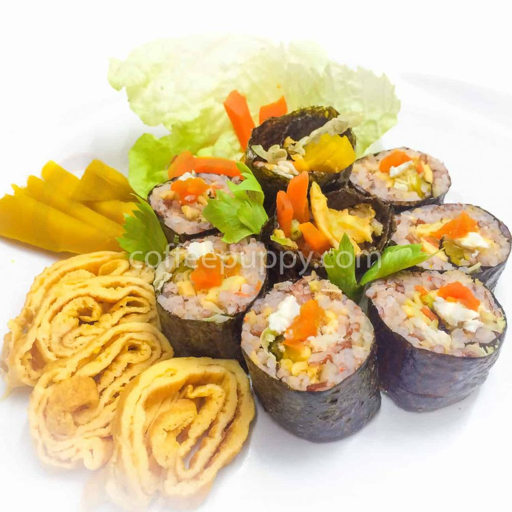 Seaweed Rice Roll