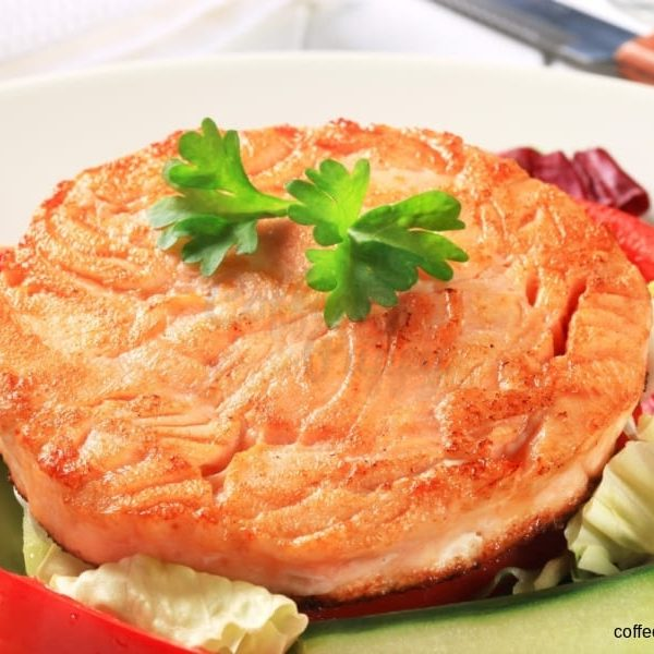 Salmon Pancake - Puppy Menu By Coffee & Puppy ®